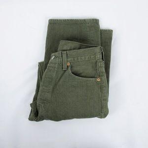 Levi's 501 Original Fit Jeans Size 31x32